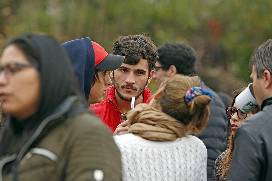 En el lugar estuvo presente el Subsecretario de Juventud, Pedro Robledo.