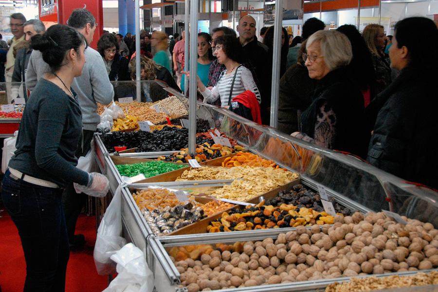 Se podrá disfrutar de frutos secos, frutas abrillantadas y cosas dulces en la feria gastronómica.