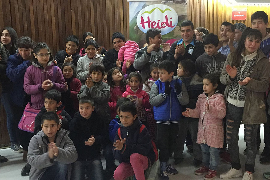 Más de 400 chicos y chicas se sumaron a esta iniciativa.