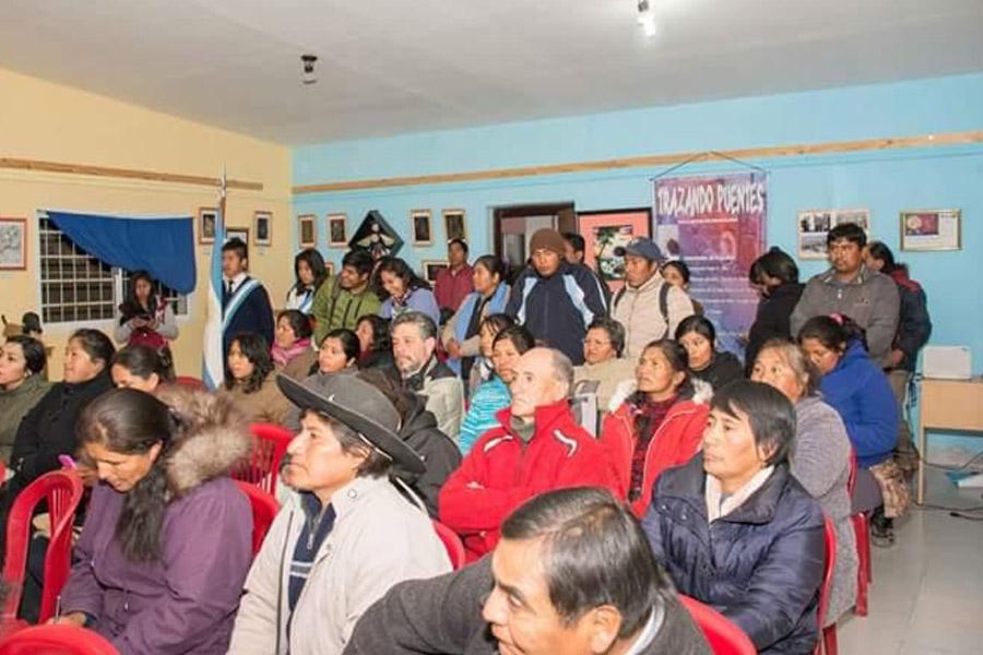 Imagen ilustrativa de personas en un Centro Integrador Comunitario de Jujuy