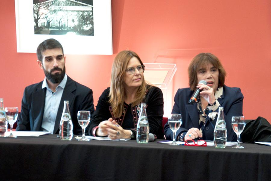 El encuentro tuvo lugar tuvo en el Salón de los Pueblos Originarios de Casa Rosada.