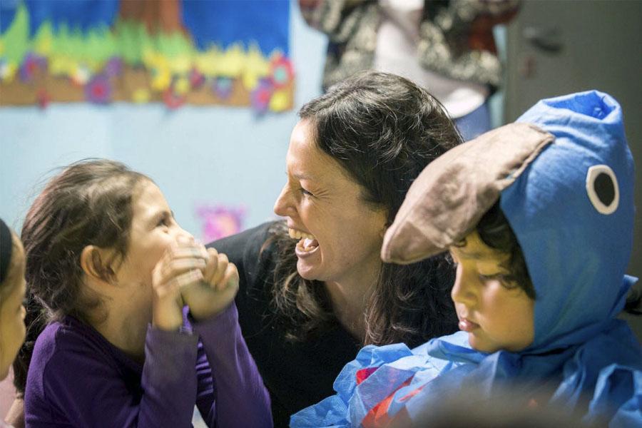 En este espacio, 120 chicos de 0 a 4 años reciben estimulación, contención y nutrición.