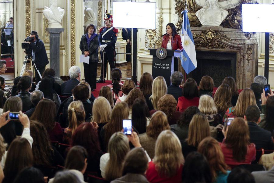 El plan presentado contempla la implementación de 69 medidas y 137 acciones en todo el país para prevenir y asistir integralmente a las mujeres en situación de violencia.