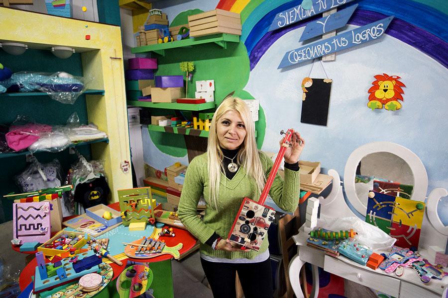 Imágenes de emprendedores de juguetes