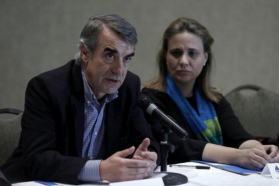 El secretario de Coordinación y Monitoreo Institucional del Ministerio de Desarrollo Social de la Nación, Gabriel Castelli, realizó la apertura de la actividad.
