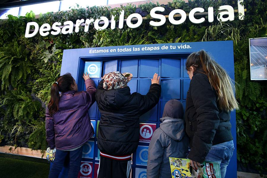 Imagen del espacio de Desarrollo Social en Tecnópolis