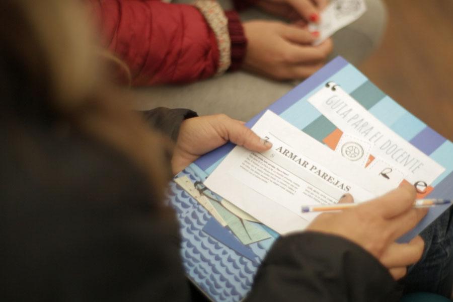 Durante los talleres, aprenderán la metodología adecuada para ayudar a niños con dificultades de aprendizaje.