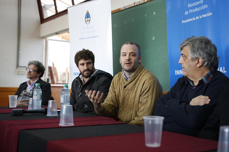 Matías Kelly, titular de Argentina Trabaja, participó de la presentación del proyecto.