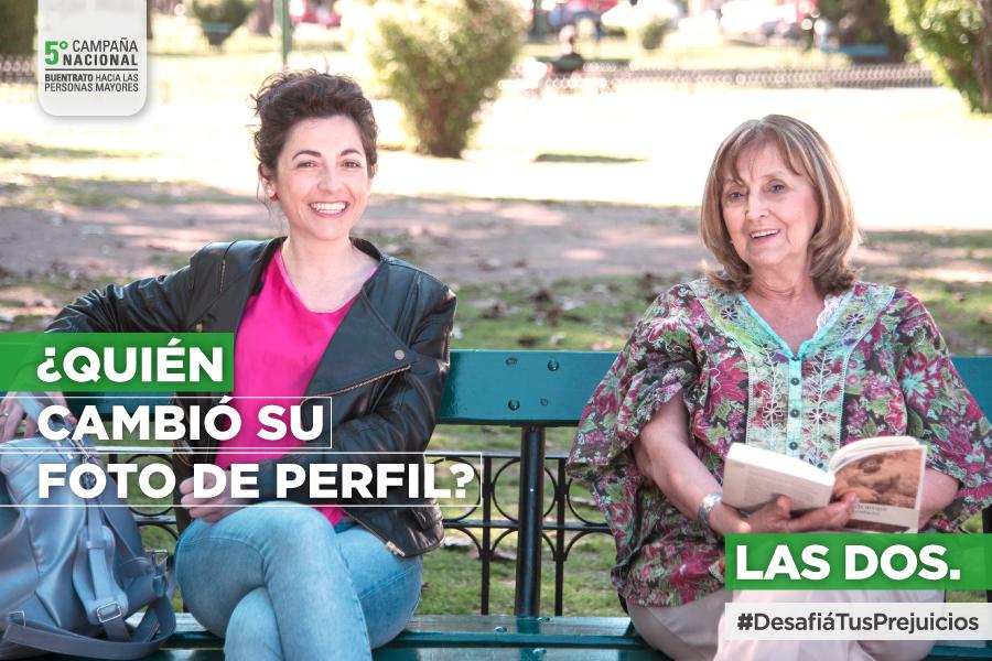 Imagen ilustrativa de Campaña Buen trato a Adultos Mayores