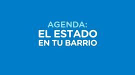 Imagen institucional El Estado en tu barrio