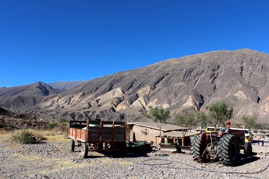 En la Quebrada de Humahuaca, las familias cultivan la tierra desde hace varios años.