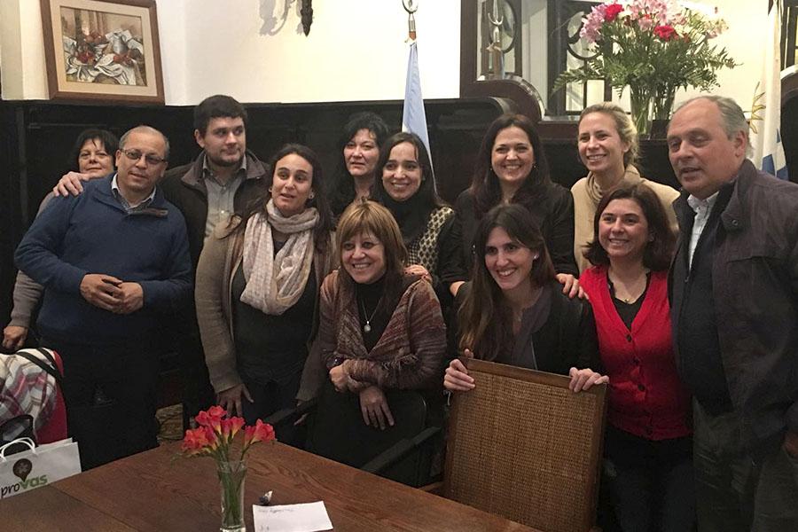 Funcionarios de los ministerios de Desarrollo Social de Argentina y Chile se reunieron para definir temas para una agenda común.