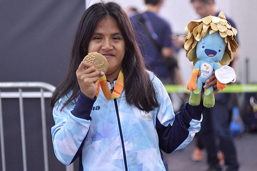 Imagen ilustrativa de la atleta Yanina Martínez.