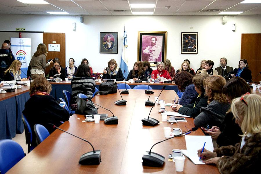 Imagen ilustrativa de Fabiana Túñez, presidenta del Consejo Nacional de las Mujeres.