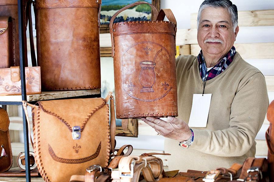 Los productos de marroquinería se destacan por su gran calidad.