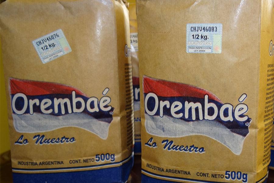 Fotografía ilustrativa de Orembaé, la yerba mate que comercializa Caficla