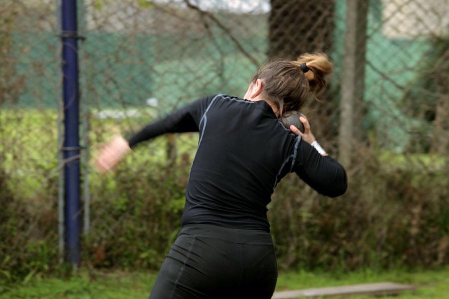 La joven deportista competirá en las disciplinas de lanzamiento de disco y bala T 40.
