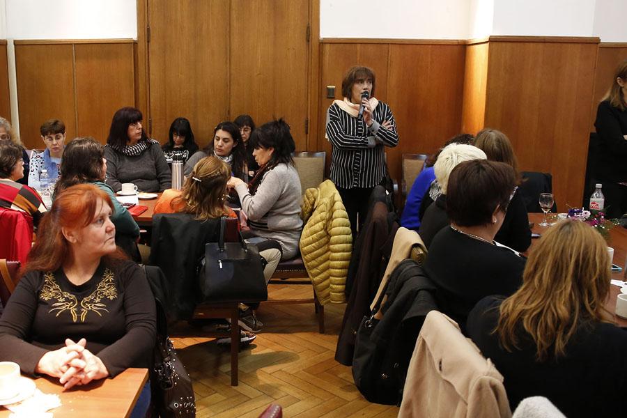 El Consejo de las Mujeres compartió reuniones de trabajo con integrantes de las áreas mujer de los Sindicatos.