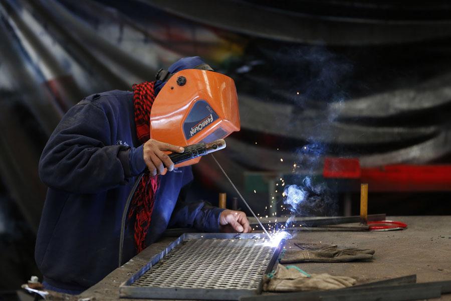 Miembro del programa Argentina Trabaja en un Polo Productivo