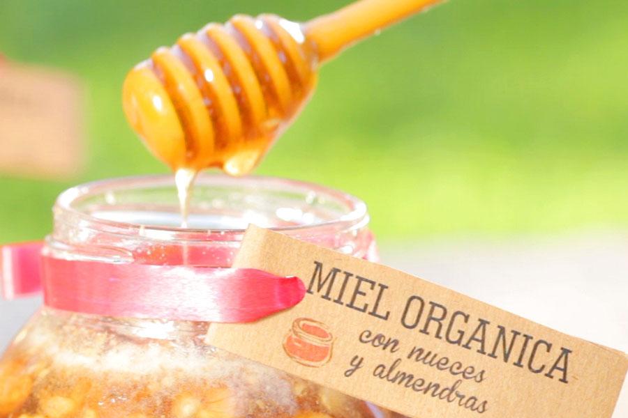 Fotografía ilustrativa de la miel orgánica de El Espinal