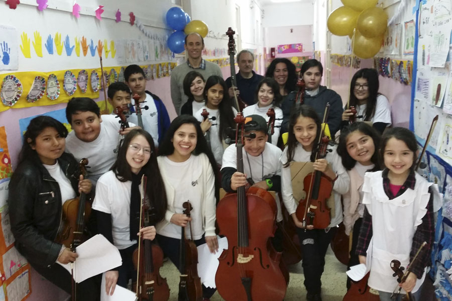 Imagen de la orquesta de la Sennaf