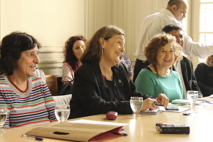 Imagen de especialistas durante el encuentro