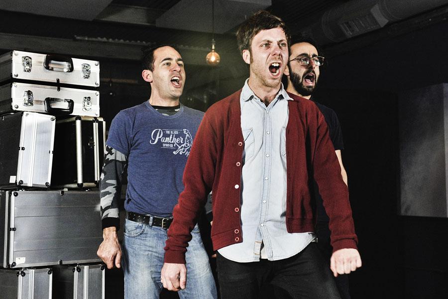 Imagen de los actores del ciclo de teatro