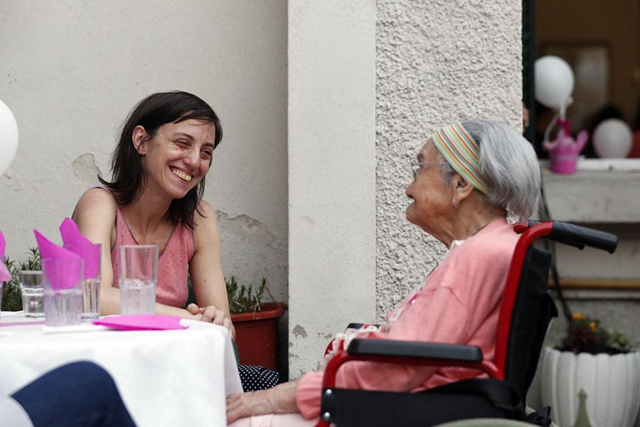 El Hogar Balestra es un ejemplo de que el envejecimiento puede ser saludable y activo.