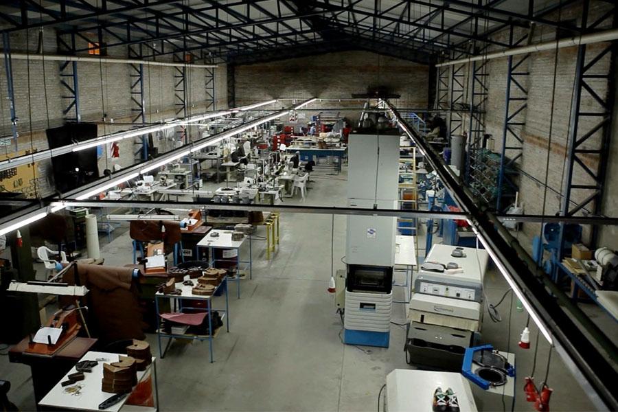 """Fotografía ilustrativa del taller de la Cooperativa """"Posta de San Martín""""."""
