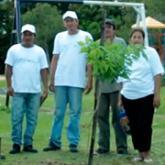 Imagen ilustrativa de integrantes que conforman el vivero municipal de Corrientes