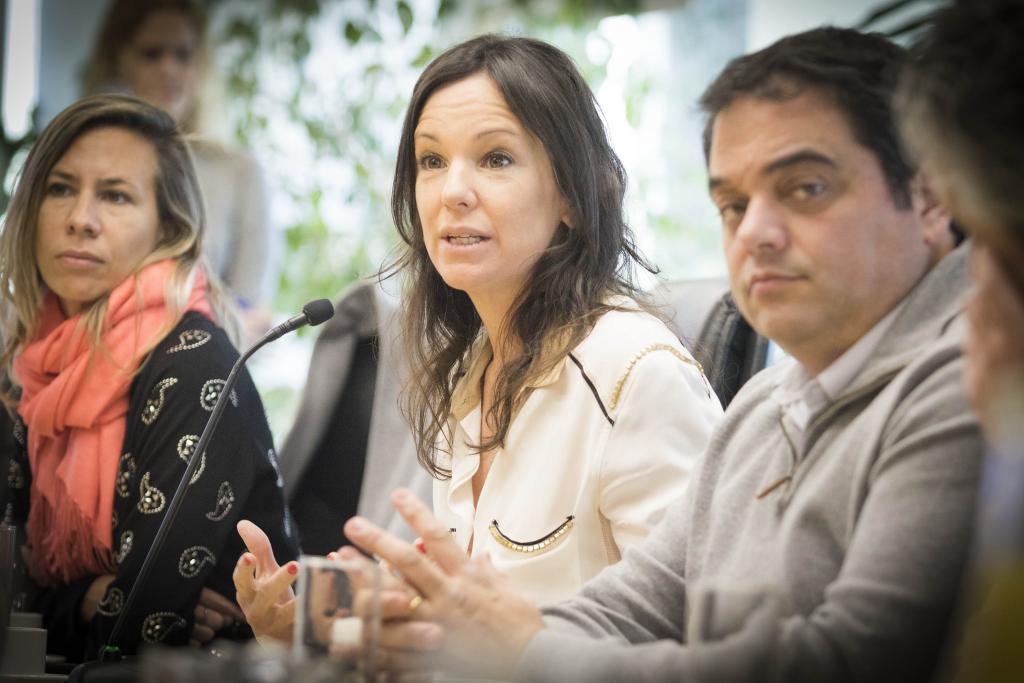 La ministra Carolina Stanley y el ministro Jorge Triaca