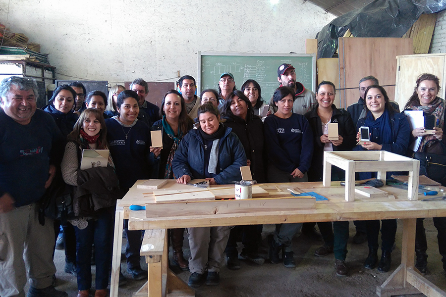 Integrantes de Argentina Trabaja