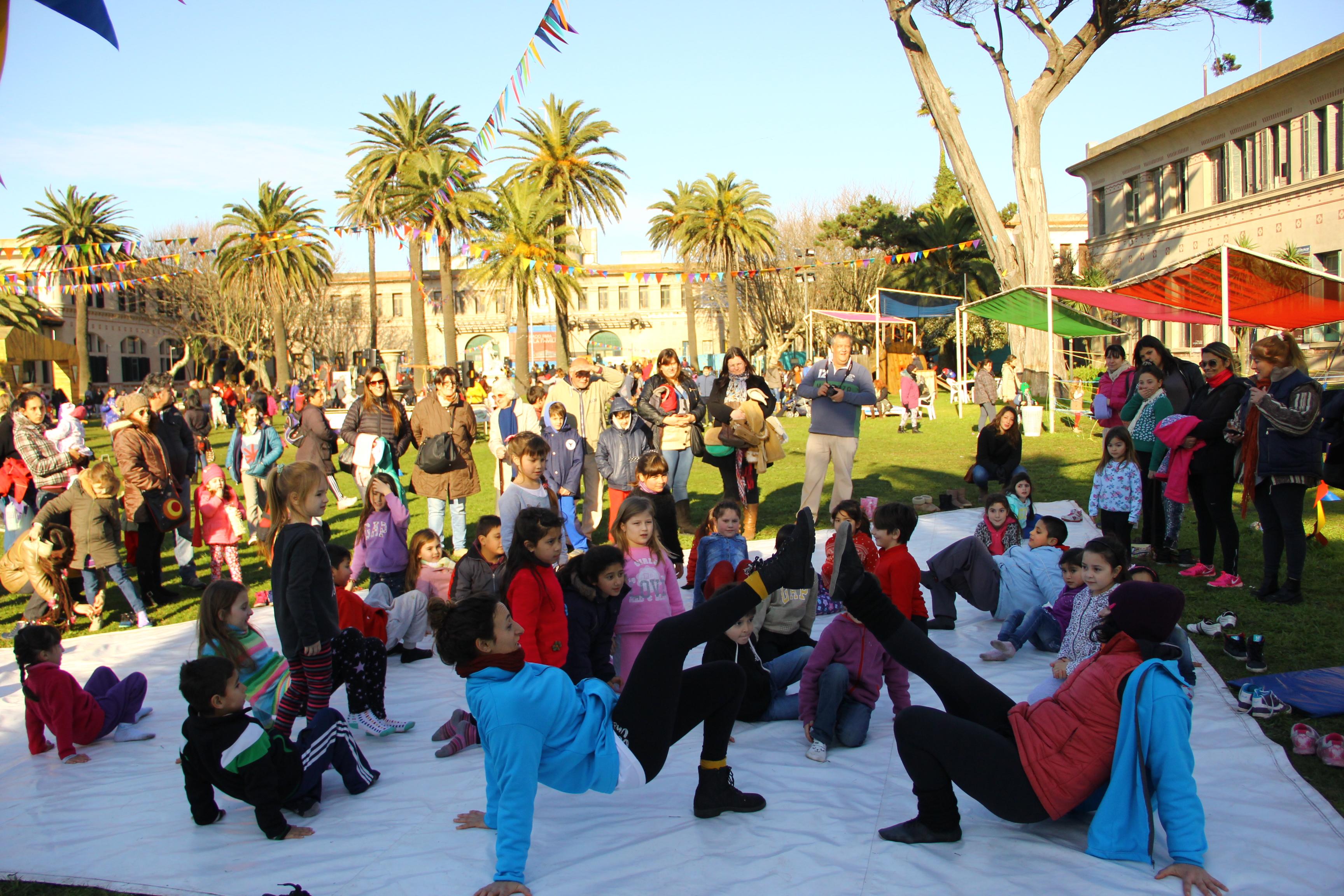Baile al aire libre