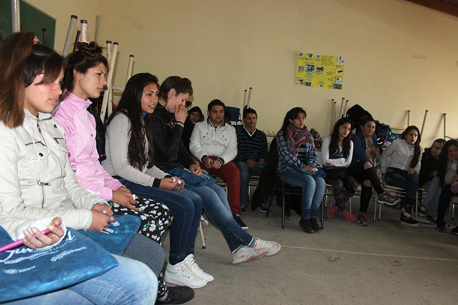 Se realizó un taller sobre violencia de género en Florencio Varela.