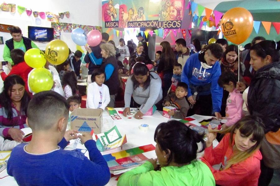 Se celebró el Día del Niño en Tecnópolis.