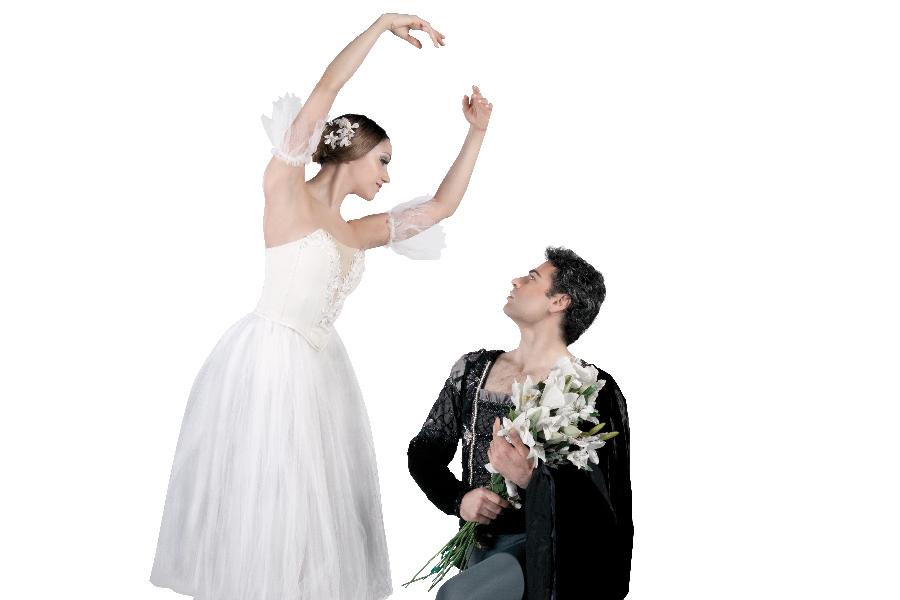 foto danza por la inclusión Giselle