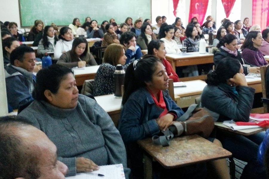 Participantes del curso de formación en género