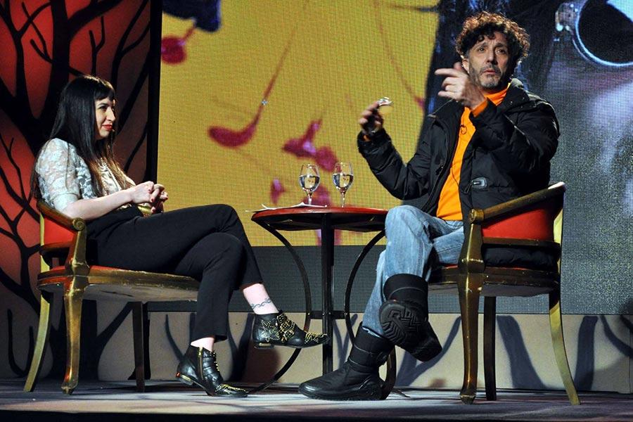 Imagen entrevista a Fito Páez