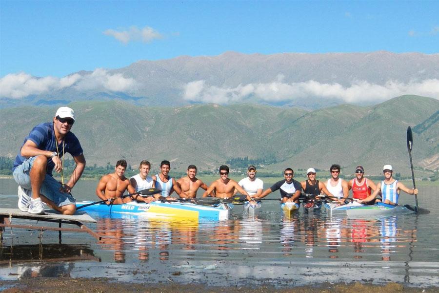 El canotaje argentino celebra un momento histórico de crecimiento.