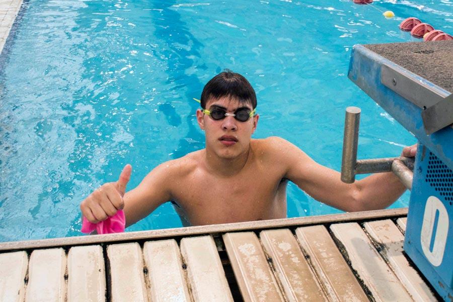 El nadador de Joaquín Franco