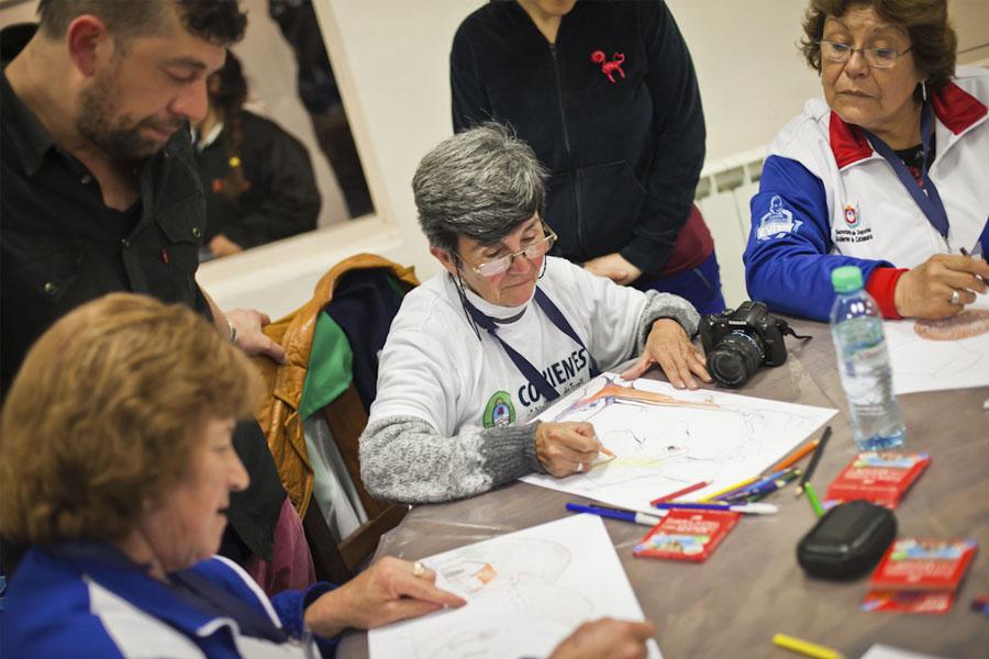 Más de 900 adultos mayores de todo el país participan de los Juegos Evita.