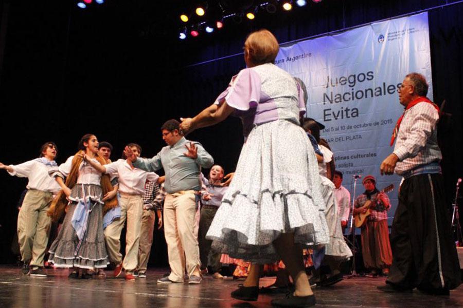 Alrededor de 1000 personas participaron en actividades culturales de los Evita.