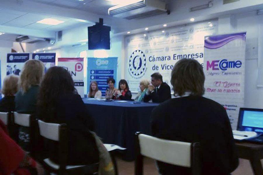 Mujeres emprendedoras y empresarias participaron de un encuentro de responsabilidad social