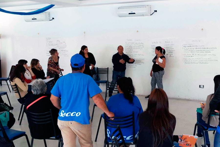 Escuela popular de género en Ensenada