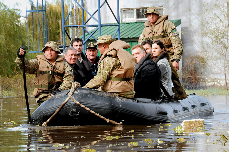 Imágenes de inundaciones