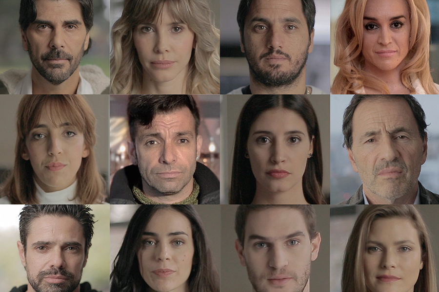 Collage de personalidades por Campaña 144