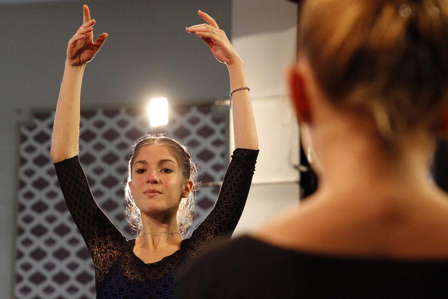 Imagen ilustrativa de bailarinas clásicas
