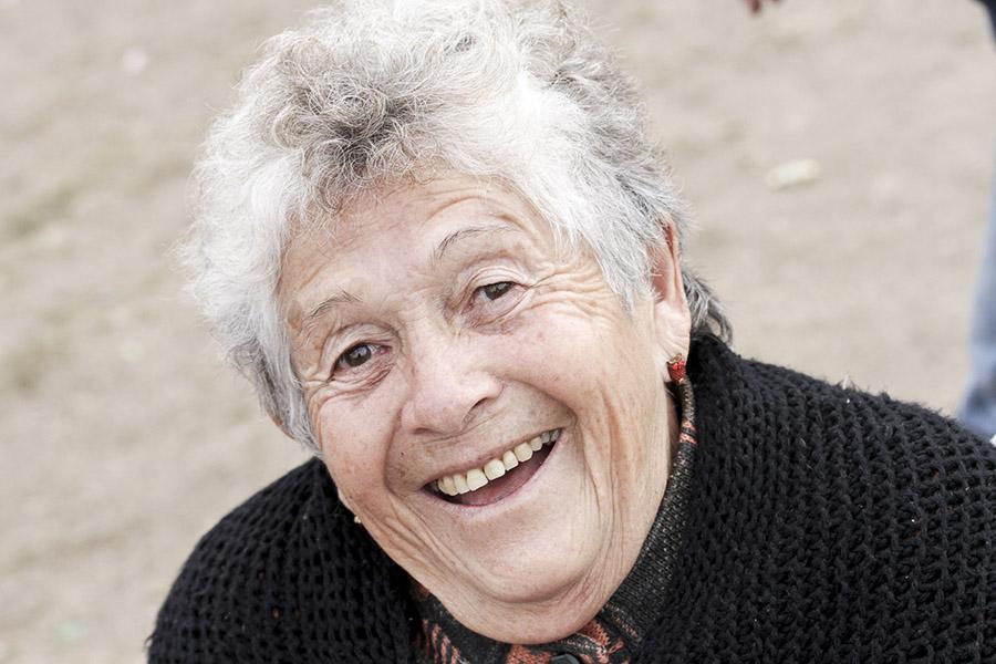 Imagen ilustrativa de una adulta mayor