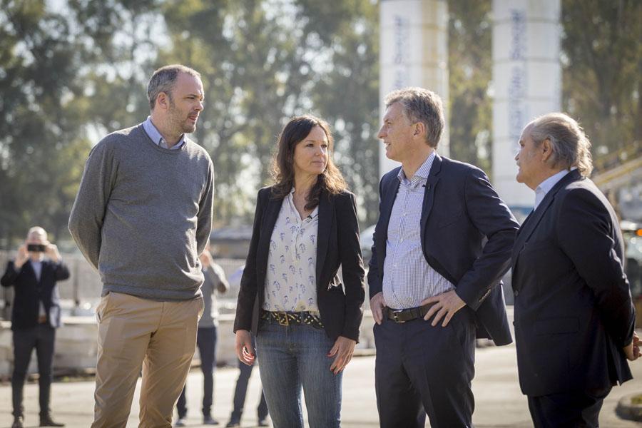 Imagen de Mauricio Macri, Carolina Stanley y Matías Kelly