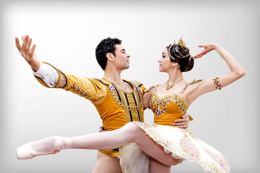 Imagen ilustrativa de dos bailarines de danza clásica